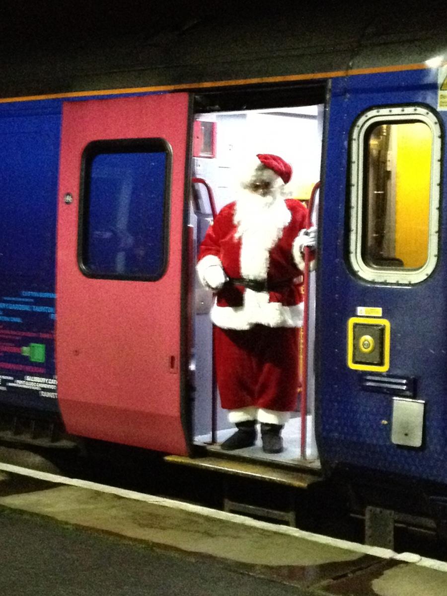 On the Santa Train