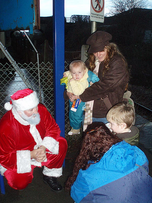 With Santa Claus at Melksham
