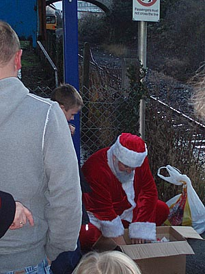 Santa at Melksham