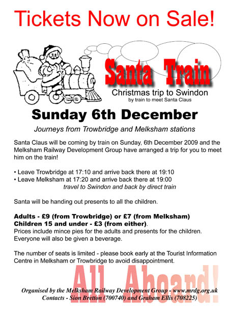 Trowbridge to Swindon Santa Special