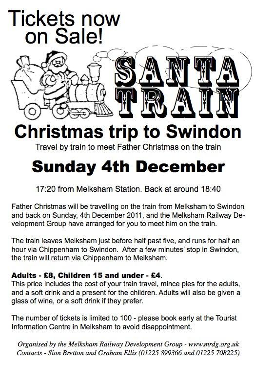 Santa Train, December 2011