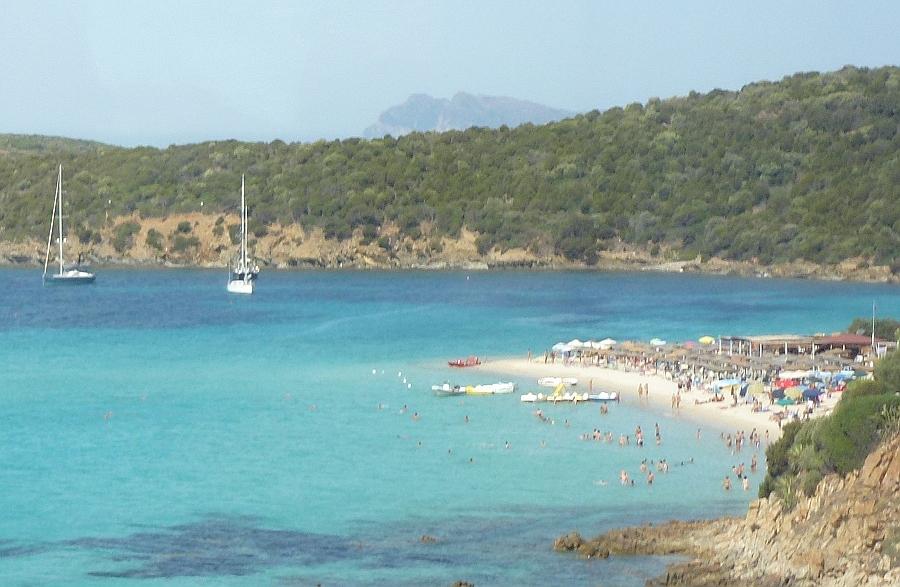 Mediterranean beach, Sardinia