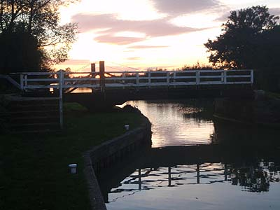 Swing Bridge on canal