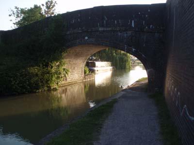 Canal bridge at Seend