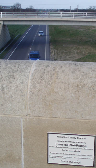 Semington Bypass from the Aquaduct