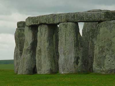 Stonehenge - closer up