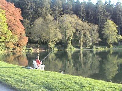 Fishing on Shear Water