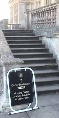 up to the Cellar Restaurant