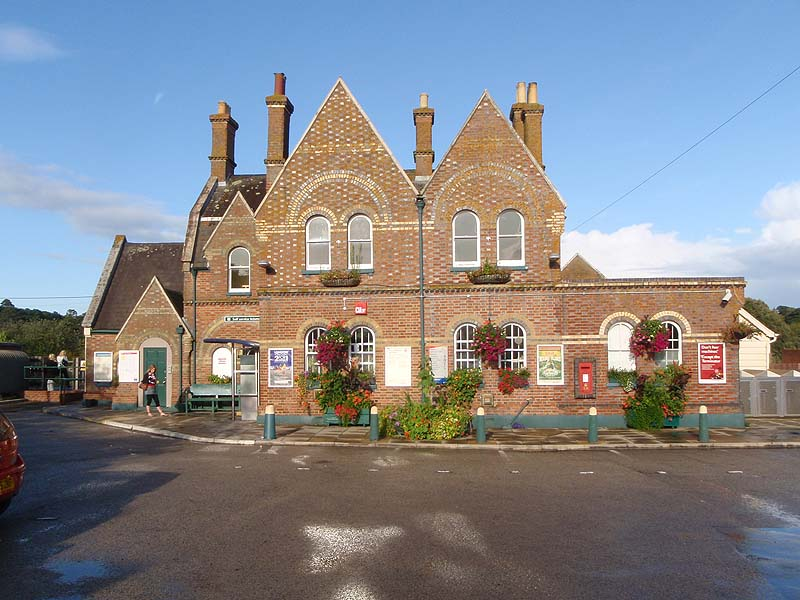 Lymington Town Station