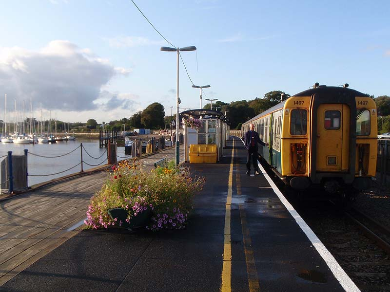 Lymington Pier station
