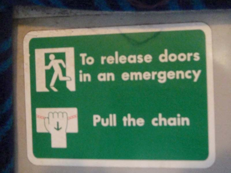 Emergency Action signs
