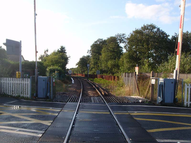 Level Crossing, Lymington