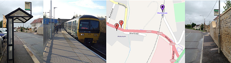 Trains at Melksham