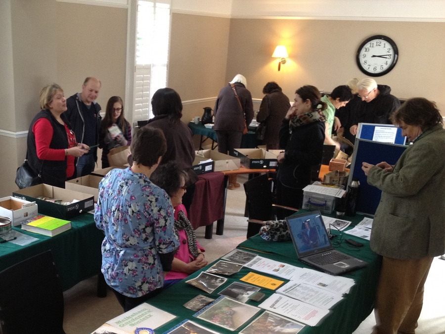 Seed swap at Well House Manor