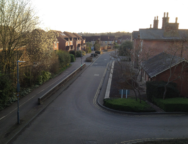 St Albans - site of old London Road Station