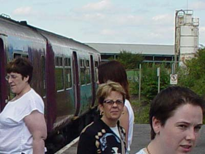 A Train, A Station and Passengers
