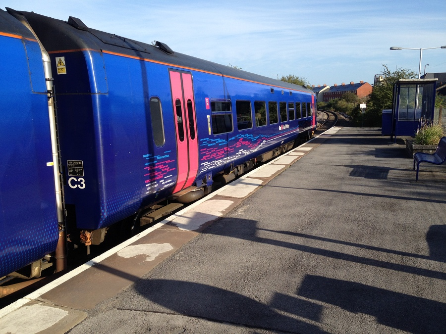 Train at Melksham