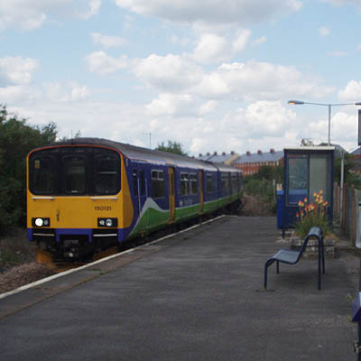 Class 150 without corridor connection at Melksham