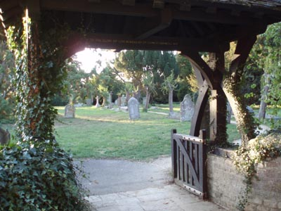Lych Gate at church yard entrance, Melksham