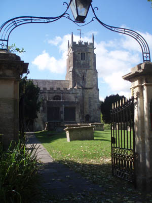 St Micahels and All Saints, Melksham