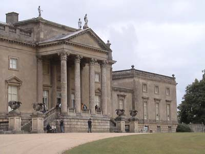 The main house at Stourhead