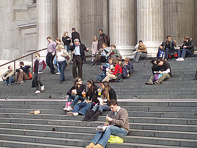 St Pauls Cathedral Steps