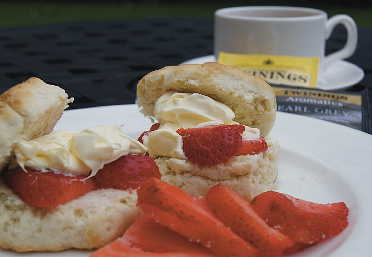 Strawberries and Scones