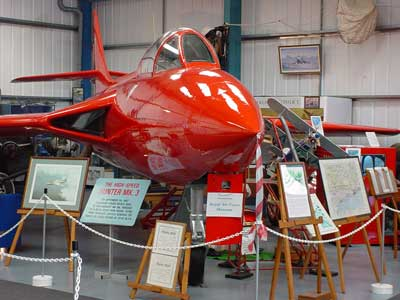 Hawket Hunter at Tangmere
