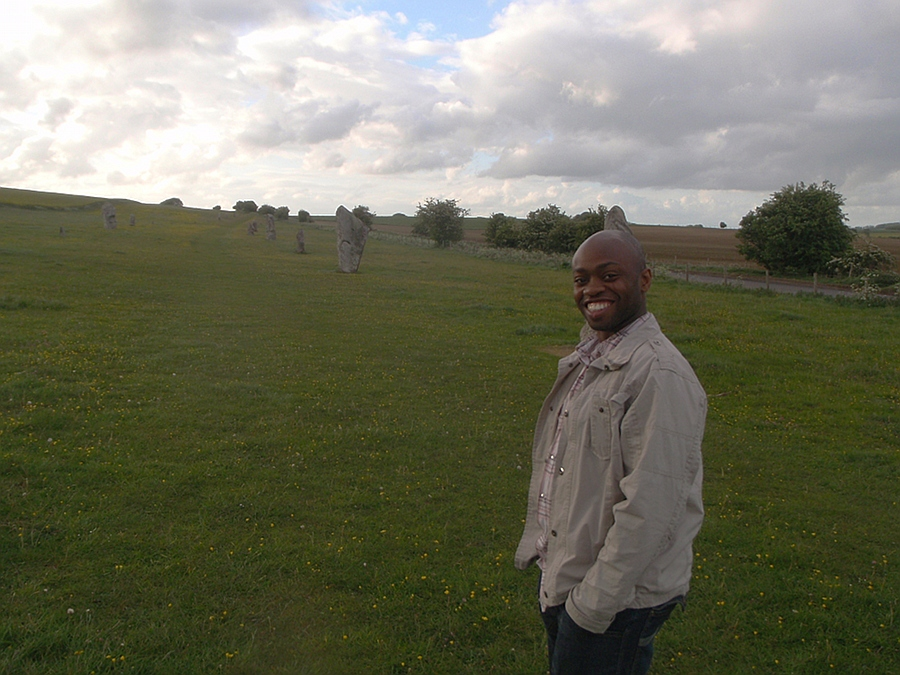 Peter at Avebury