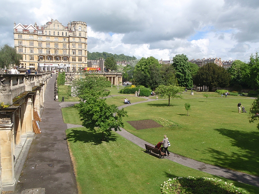Gardens, Bath