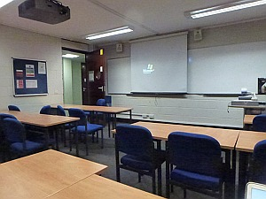 Lecture Room, Tate building, The City University
