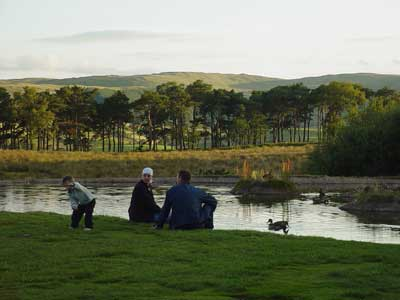 Outside Tebay Service Area