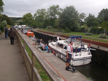 The lock at Mapledurham