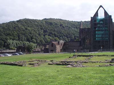 Tintern Abbey in all its glory