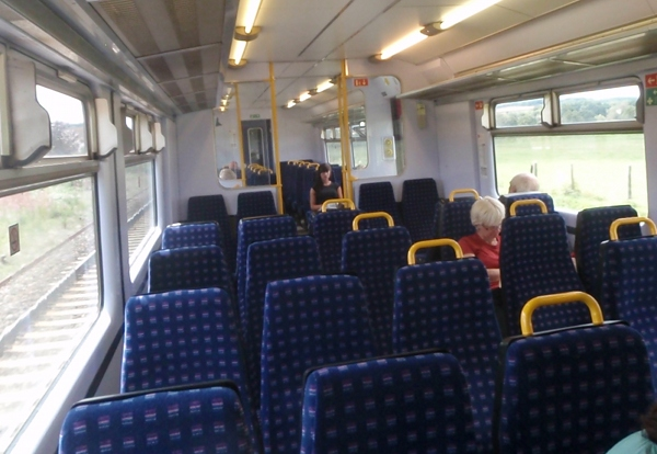 Paignton to Cardiff train
