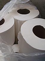 Rolls of toliet paper