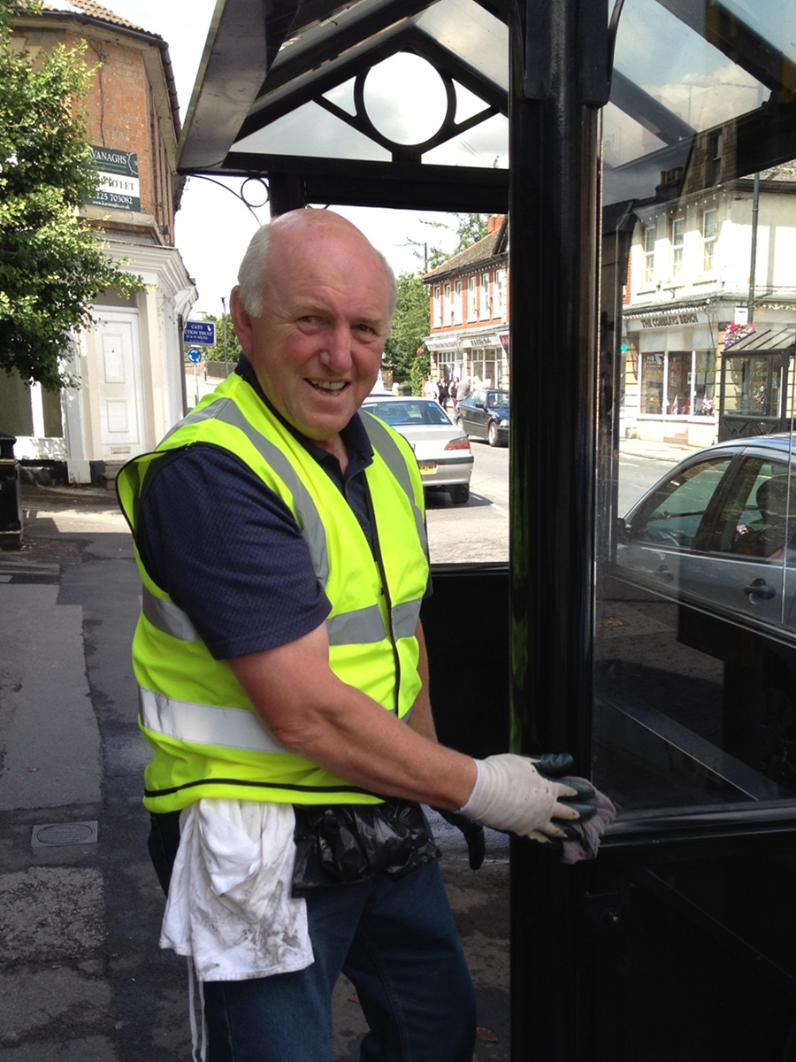 Cleaning the town - Melksham