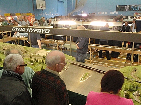 Watching a model railway