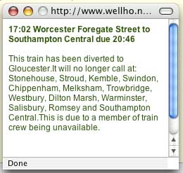 Train Text