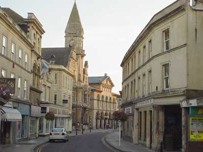 Trowbridge town centre