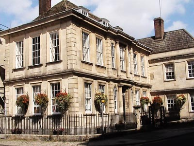 Georgian building in Trowbridge