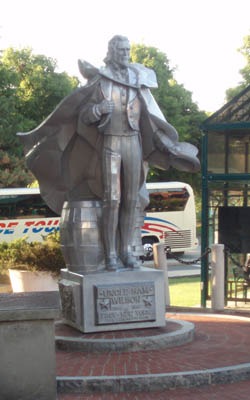 Uncle Sam - statue, Troy, NY State