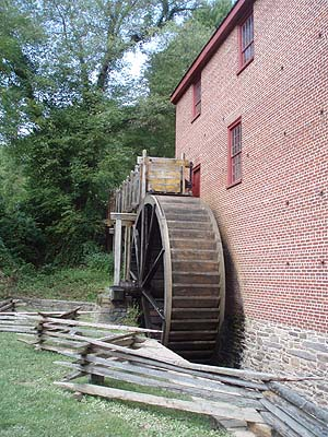 Mill Wheel, Colvin Run Mill