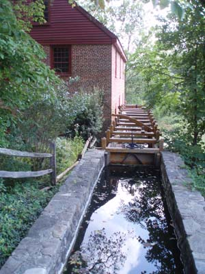 Headrace and Mill - Colvin Run Mill
