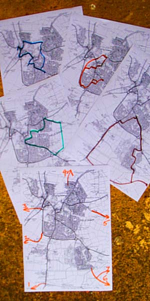 Walking Maps of the Melksham area