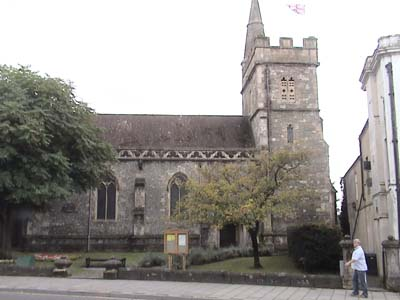 One of the many churches in Warminster