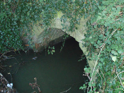 Clackers Brook culvert, Wilts and Berks canal, Melksham