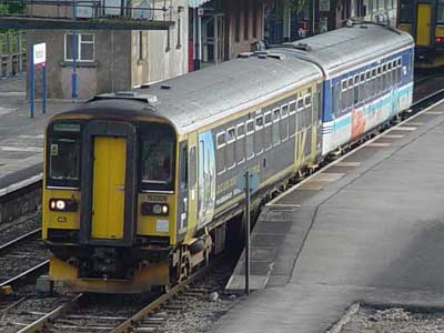 One of Wessex trains local services