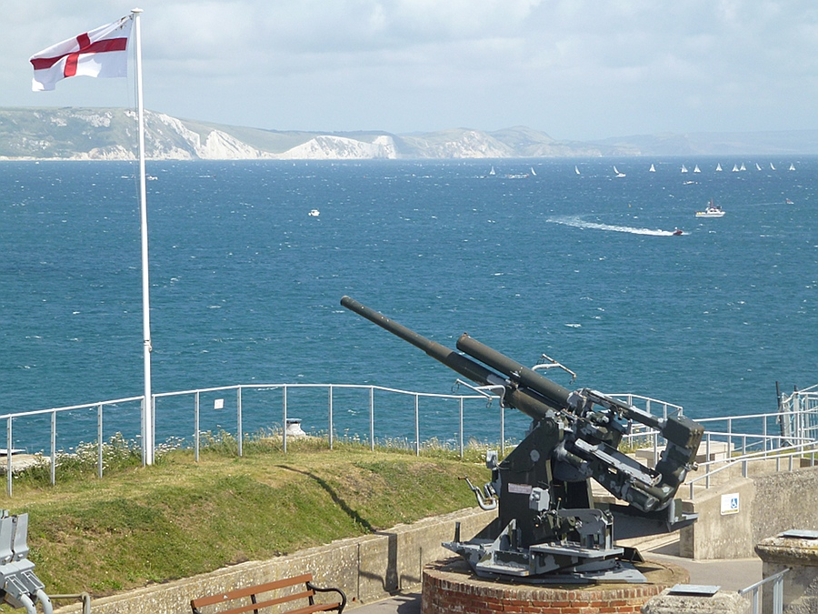 Nothe Fort and Jurassic Coat