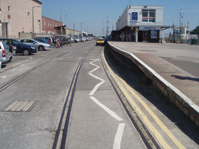 Weymouth Quay Station - out of use